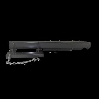 adjustable boom side view